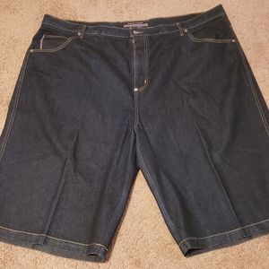 Big and tall men's phat farm jeans short 52